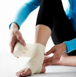 Массаж при ушибах и растяжениях связок и мышц