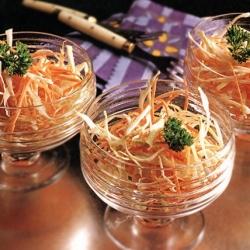 Медовый салат с морковью
